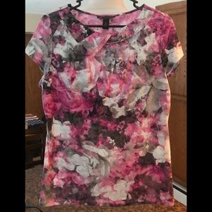 INC International Concepts Tops - Pretty INC top with cutout details size XL